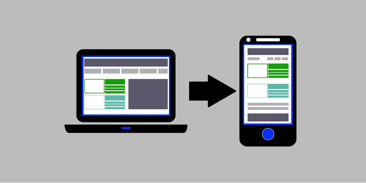 Perfekt layout til mobil