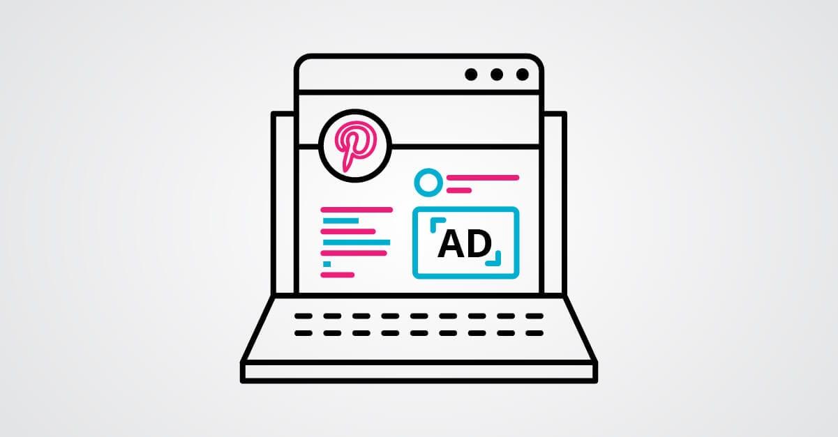 Pinterest advertisement
